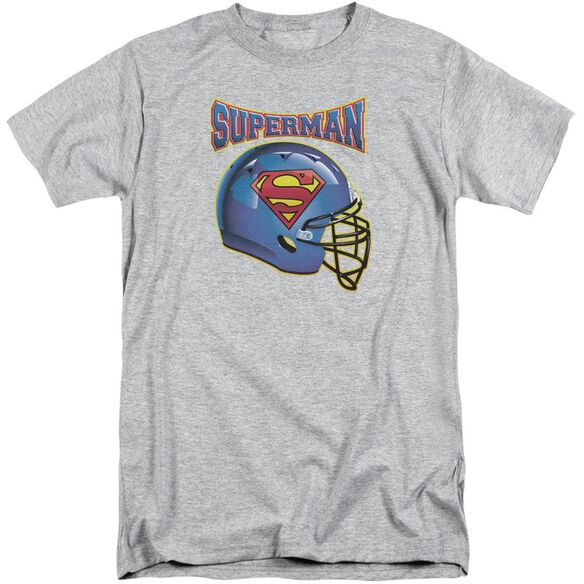 Superman Helmet Short Sleeve Adult Tall Athletic T-Shirt