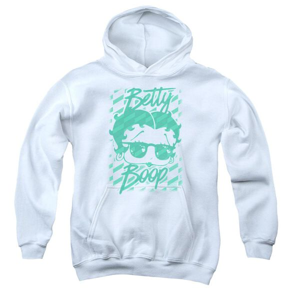 Betty Boop Summer Shades Youth Pull Over Hoodie