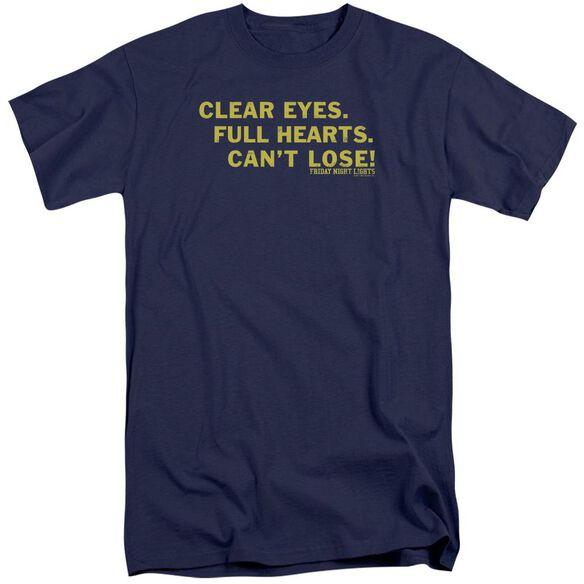 Friday Night Lights Clear Eyes Short Sleeve Adult Tall T-Shirt
