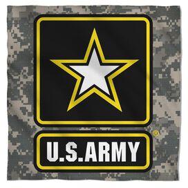 Army Patch Bandana White