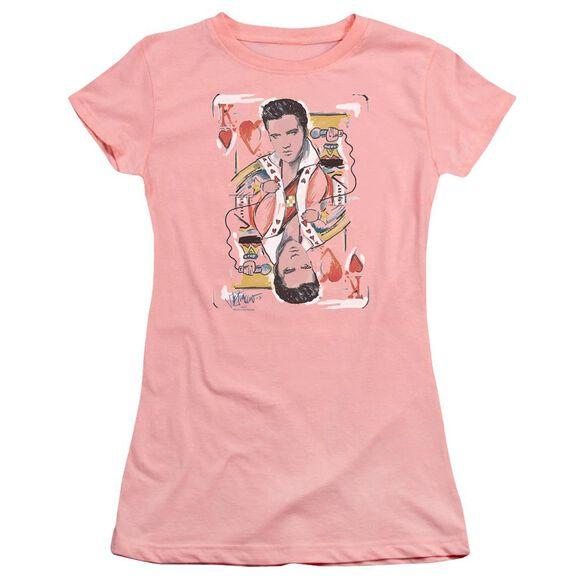 Elvis King Of Hearts Premium Bella Junior Sheer Jersey