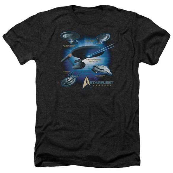 Star Trek Starfleet Vessels Adult Heather