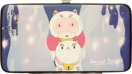 Bee and PuppyCat Laser Beam Clutch Wallet