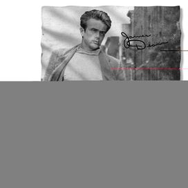 James Dean Walk (Front Back Print) Pillow Case