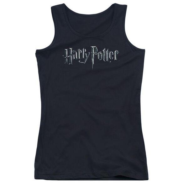 Harry Potter Logo Juniors Tank Top