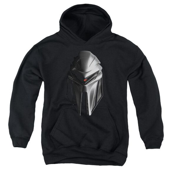 Bsg Cylon Head Youth Pull Over Hoodie