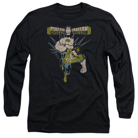Green Lantern Powerful Long Sleeve Adult T-Shirt