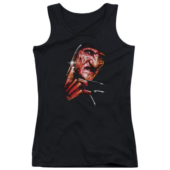 Nightmare On Elm Street Freddys Face Juniors Tank Top
