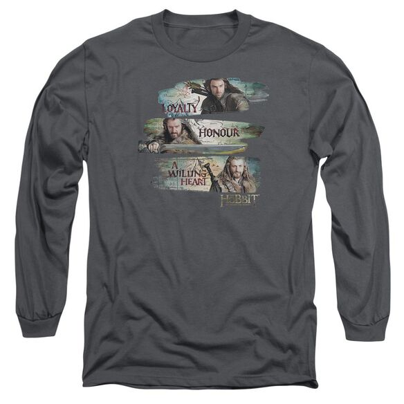 The Hobbit Loyalty And Honour Long Sleeve Adult T-Shirt