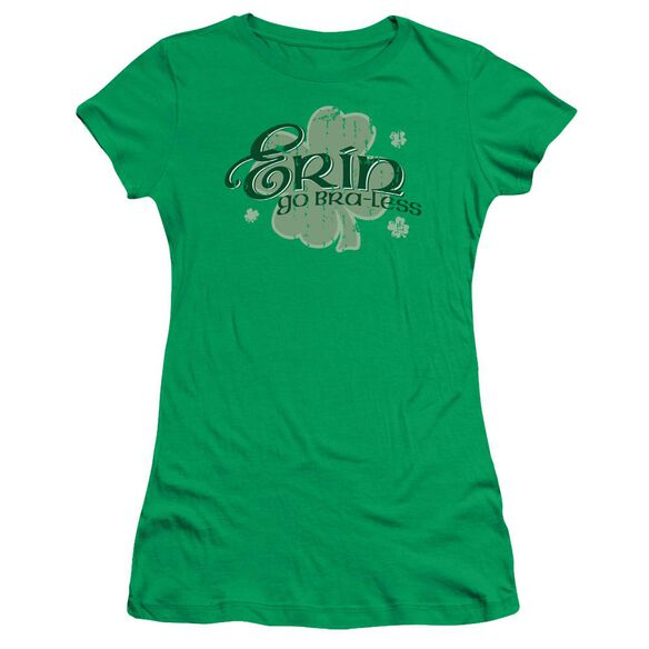 Erin Go Braless Short Sleeve Junior Sheer Kelly T-Shirt
