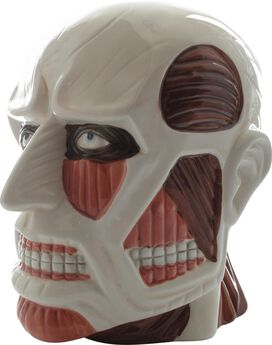 Attack on Titan Colossal Head Molded Coin Bank