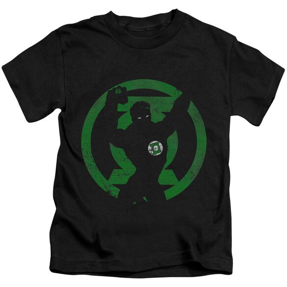 Dc Gl Symbol Knockout Short Sleeve Juvenile T-Shirt