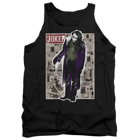 Dark Knight Funny Pages Adult Tank