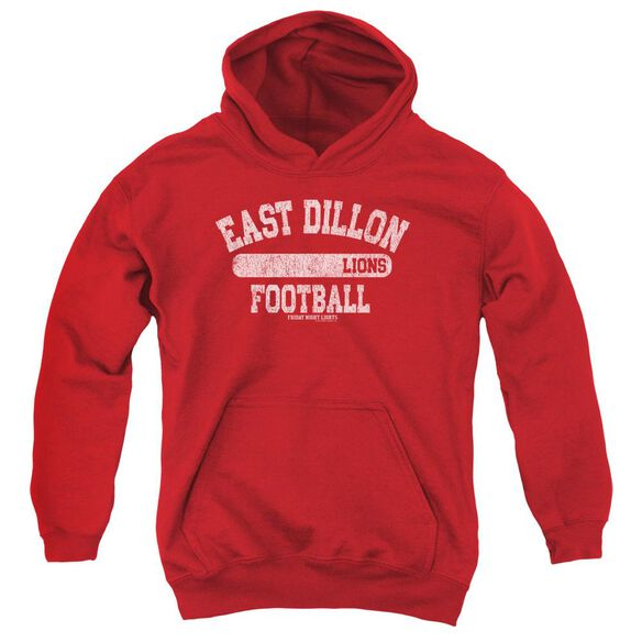 Friday Night Lights Lions Pill Box Youth Pull Over Hoodie