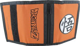 Dragon Ball Z Goku's Kanji Velcro Wallet
