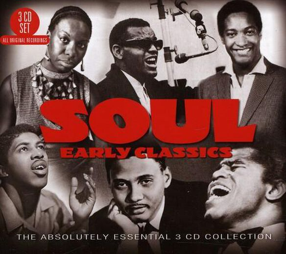 Soul: Early Classics The Absolutely Essential 3 Cd