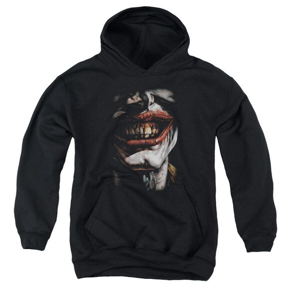 Batman Smile Of Evil Youth Pull Over Hoodie
