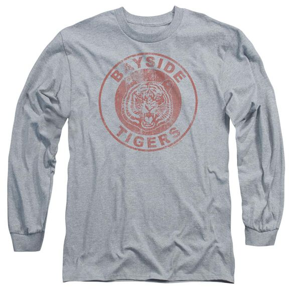 Saved By The Bell Tigers Long Sleeve Adult Athletic T-Shirt