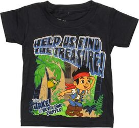 Jake and Never Land Pirates Treasure Toddler Shirt