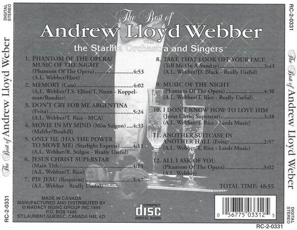 Best Of A.L. Webber 0594