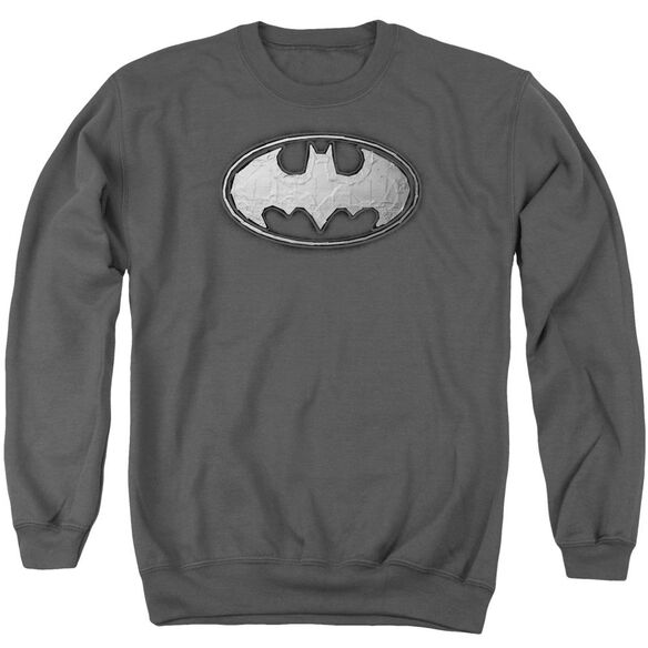 Batman Duct Tape Logo Adult Crewneck Sweatshirt