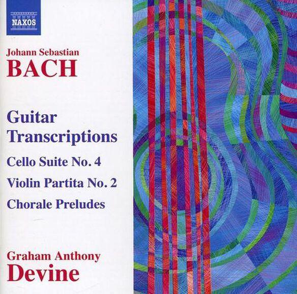 Guitar Transcriptions: Cello Suite No. 4