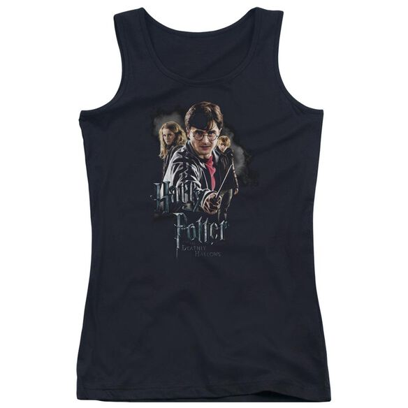 Harry Potter Deathly Hollows Cast Juniors Tank Top