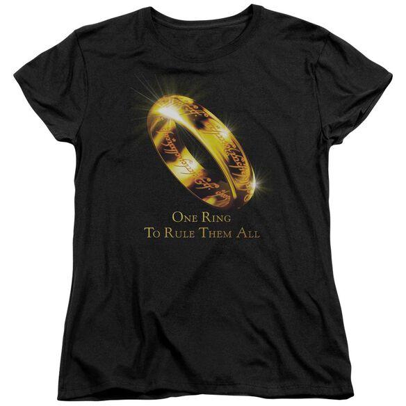 Lor One Ring Short Sleeve Womens Tee T-Shirt