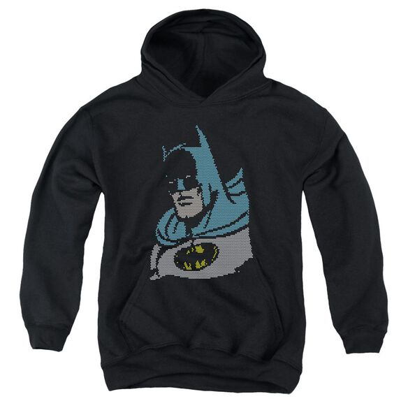 Dc Lite Brite Batman Youth Pull Over Hoodie