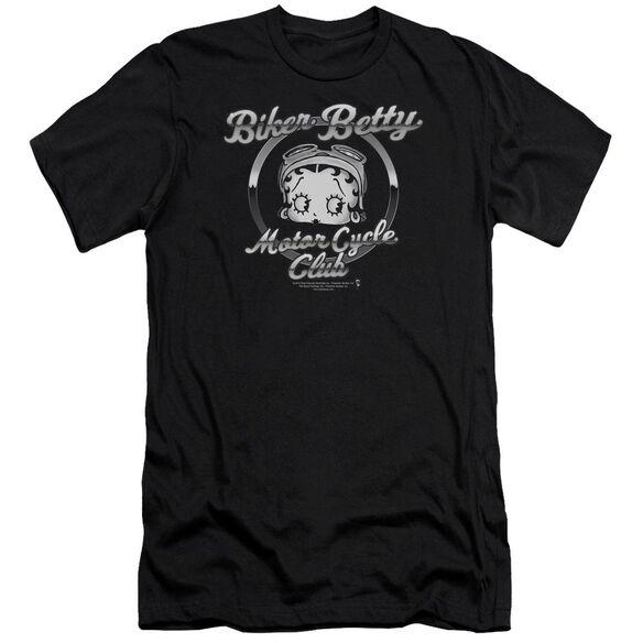 Betty Boop Chromed Logo Premuim Canvas Adult Slim Fit