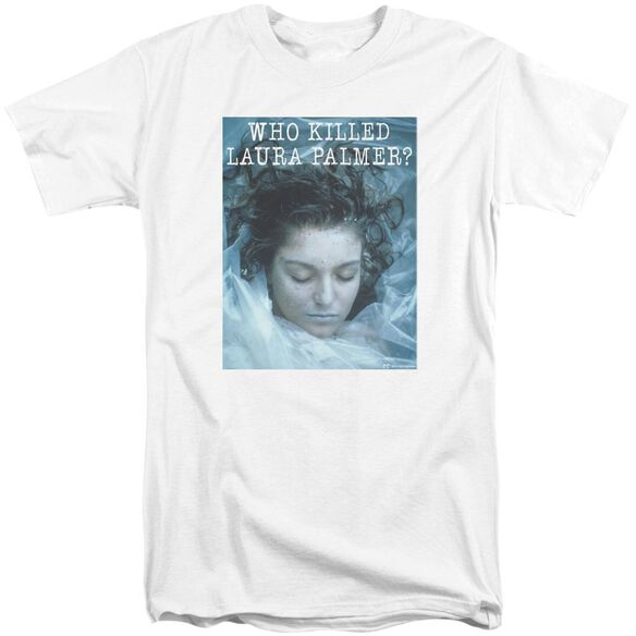 Twin Peaks Who Killed Laura Short Sleeve Adult Tall T-Shirt