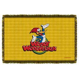 Woody Woodpecker Woody Woven Throw