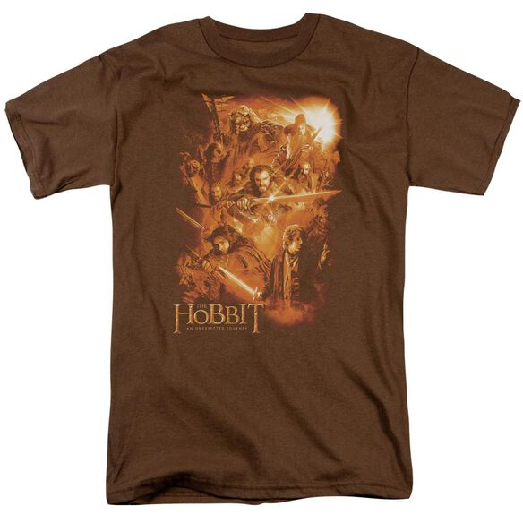 The Hobbit Epic Adventure Short Sleeve Adult Coffee T-Shirt