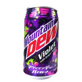 Mountain Dew Violet - [From Japan]