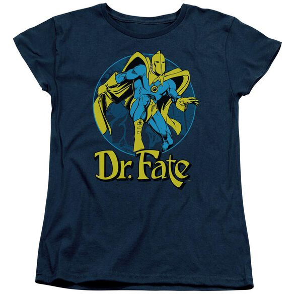 Dc Dr Fate Ankh Short Sleeve Womens Tee T-Shirt