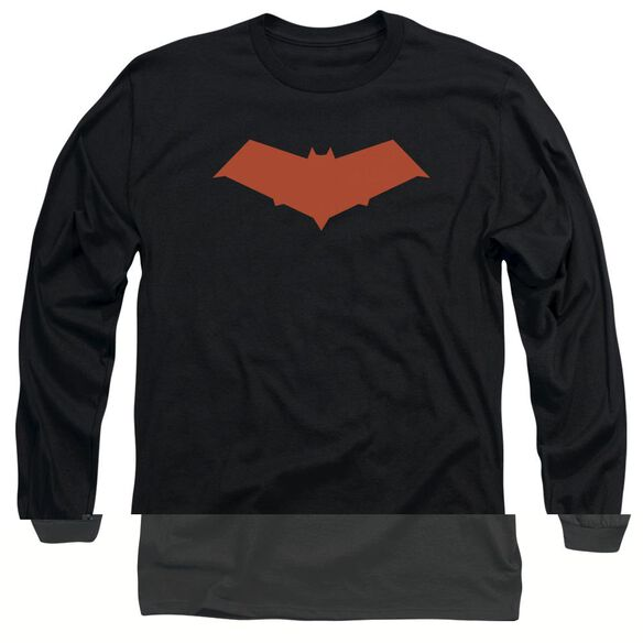 BATMAN RED HOOD-L/S T-Shirt