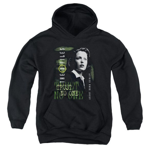 X Files Scully Youth Pull Over Hoodie