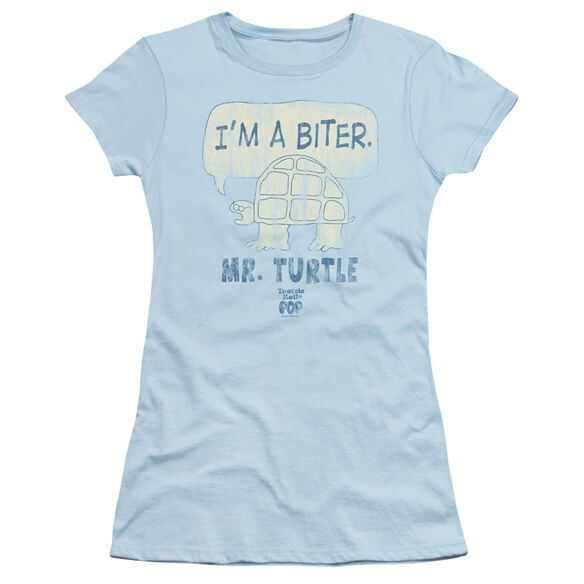 Tootsie Roll Im A Biter Short Sleeve Junior Sheer Light T-Shirt