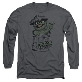 Sesame Street Early Grouch Long Sleeve Adult T-Shirt