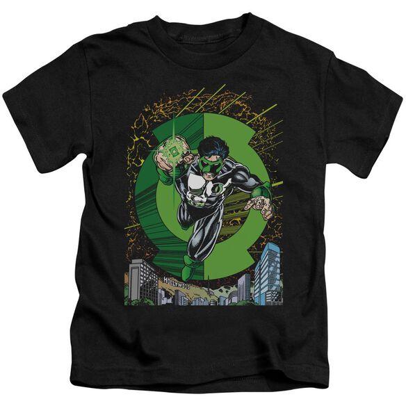 Green Lantern Gl #51 Cover Short Sleeve Juvenile Black Md T-Shirt