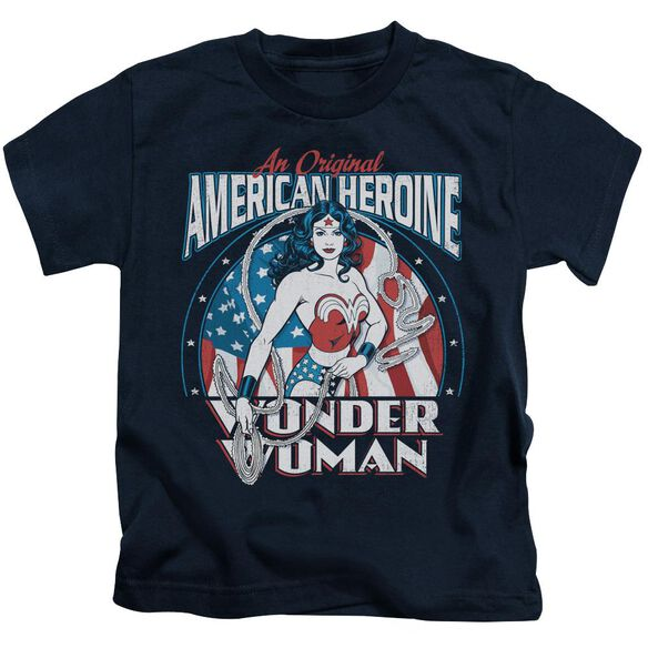 Dc American Heroine Short Sleeve Juvenile T-Shirt