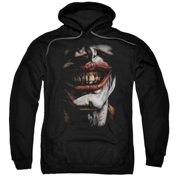 Batman Smile Of Evil Adult Pull Over Hoodie