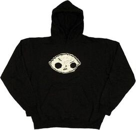 Family Guy Stewie Head Hoodie