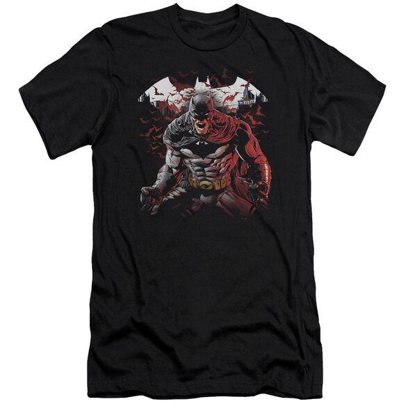 Batman Raging Bat Short Sleeve Adult T-Shirt
