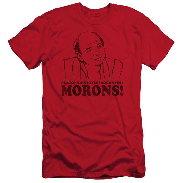 PRINCESS BRIDE MORONS - S/S ADULT 30/1 - RED T-Shirt