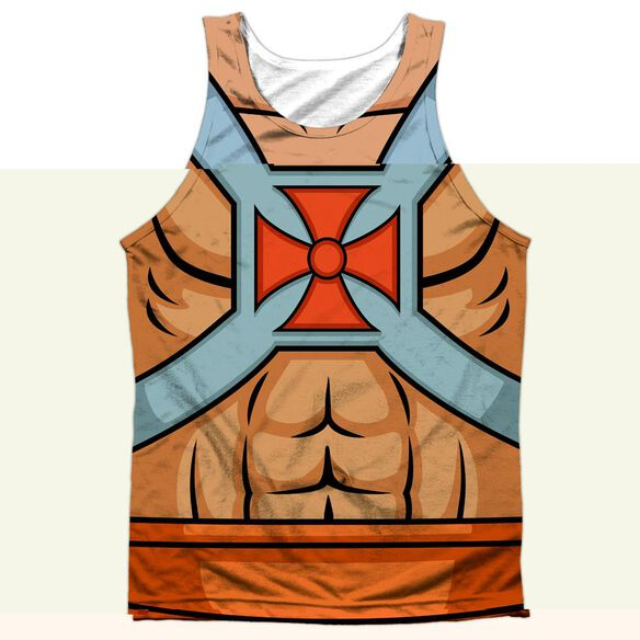 Masters Of The Universe He Man Costumes-adult 100% Poly
