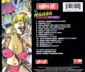 Various Artists - Main Street: Ragga DJ Mix