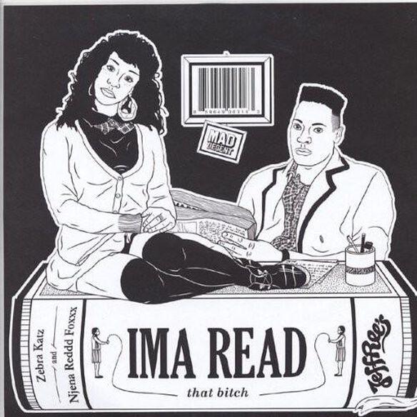 Zebra Katz - Ima Read (10in)