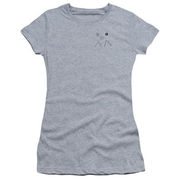Twin Peaks Peak Donut Short Sleeve Junior Sheer Athletic T-Shirt