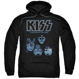 Kiss Creatures Of The Night Adult Pull Over Hoodie